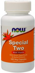 SPECIAL TWO 120kap MULTIWITAMINA enzymy Now Foods